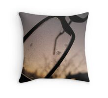 Icy очки - St. Petersburg, Russia Throw Pillow