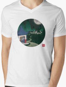 Four Of Seven Mens V-Neck T-Shirt