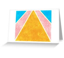 Bright Rays Greeting Card