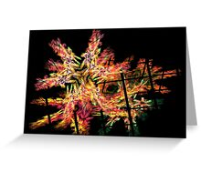 Apophysis Fractal 1 Greeting Card