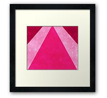 Pink Rays Framed Print