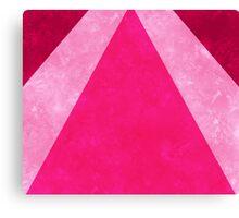 Pink Rays Canvas Print