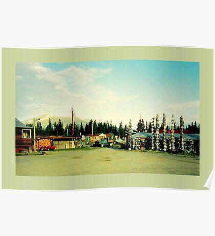 Alaska dreams  : the Alcan Highway  Poster