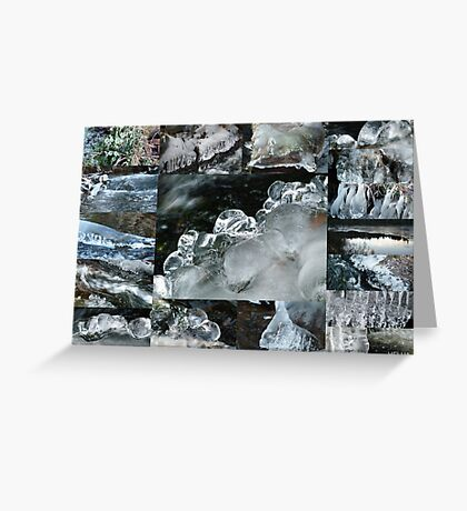 Winter Collage Greeting Card