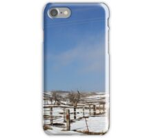 Winter Pasture iPhone Case/Skin