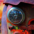rusty headlight by Ruben Flanagan