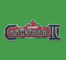 Castlevania 4 (SNES) Title Screen One Piece - Short Sleeve