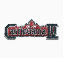Castlevania 4 (SNES) Title Screen Baby Tee