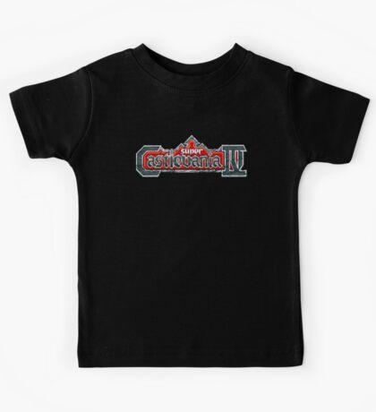 Castlevania 4 (SNES) Title Screen Kids Tee