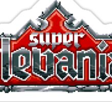 Castlevania 4 (SNES) Title Screen Sticker
