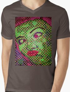 Franken`Duck-Face Mens V-Neck T-Shirt