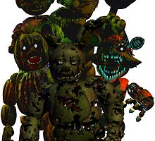 Five Nights at Freddy's 3: It's All in Your Mind by vanityphantasm