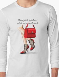 In my shoes  Long Sleeve T-Shirt