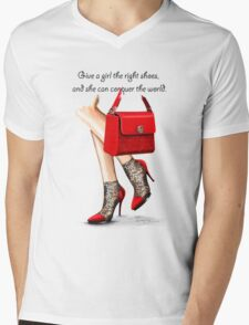 In my shoes  Mens V-Neck T-Shirt