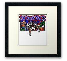 Decapattack (Genesis) Title Screen Framed Print