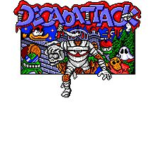 Decapattack (Genesis) Title Screen Photographic Print