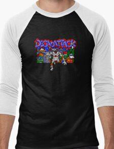 Decapattack (Genesis) Title Screen Men's Baseball ¾ T-Shirt