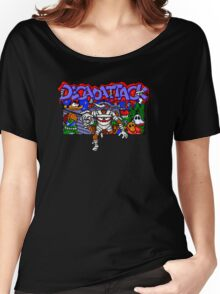 Decapattack (Genesis) Title Screen Women's Relaxed Fit T-Shirt