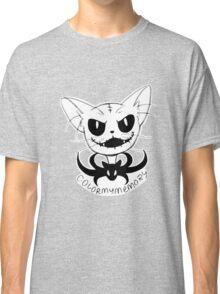 "Cat Skellington ""Mow"" Classic T-Shirt"