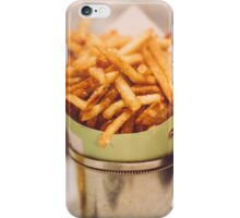 Fries in French Quarter, New Orleans iPhone Case/Skin