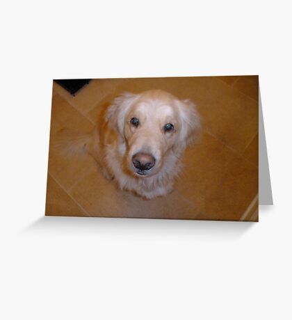 I look up to you! Greeting Card