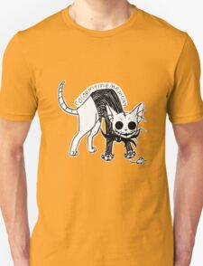 Cat Skellington (stretch) T-Shirt