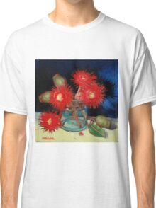 Flowering Gum Blossoms Still Life Classic T-Shirt