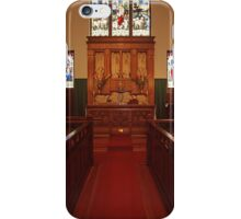 Chancel, Holy Trinity Vancouver, the Old Church iPhone Case/Skin