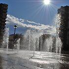 Sun & Fountain by Richard Nelson