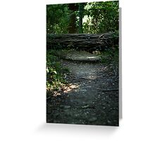 Watch your step.  Greeting Card