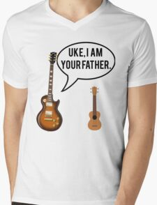 Uke Im Your Father Mens V-Neck T-Shirt