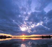 Dollarville Sunset  by Bill Spengler