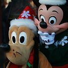 Mickey and Goofy Holidays by jukeboxphoto