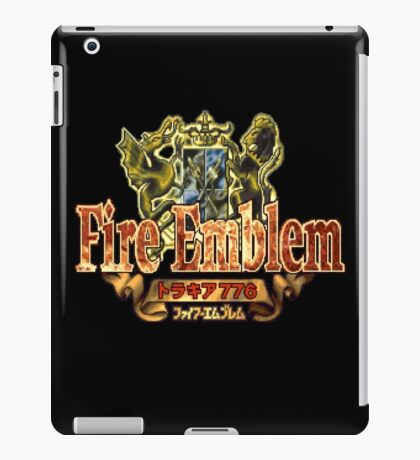 Fire Emblem (GBA) Title Screen iPad Case/Skin