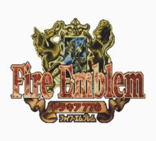 Fire Emblem (GBA) Title Screen Kids Tee