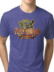 Fire Emblem (GBA) Title Screen Tri-blend T-Shirt