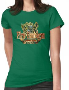 Fire Emblem (GBA) Title Screen Womens Fitted T-Shirt