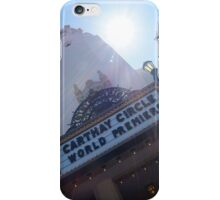 Carthay Circle Theatre iPhone Case/Skin