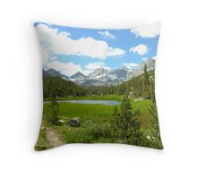 Little Lakes Valley Throw Pillow