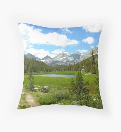 Little Lakes Valley Throw Pillow