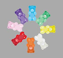 Gummy Bear Circle by underwatercity