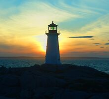 Peggy's Cove  by George Cousins