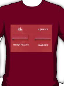 Bangkok Red T-Shirt