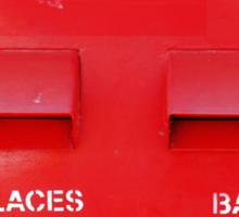 Bangkok Red Sticker