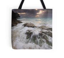 Swash over Rock, South Shore Tote Bag