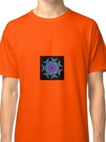 NeoGeo Floral Abstract Classic T-Shirt