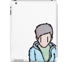 the boy is alone iPad Case/Skin