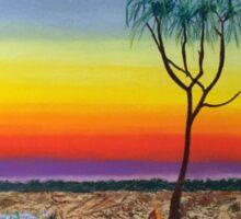 Kakadu Floodplain Sunset Sticker