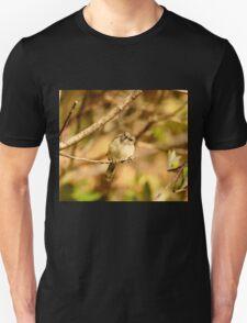 A Little Poser - Grey Warbler NZ Unisex T-Shirt