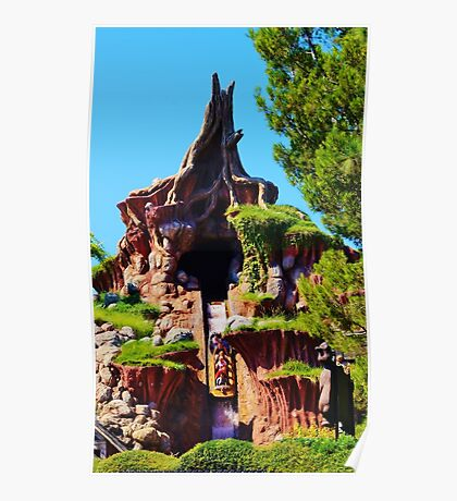 Splash mountain poster